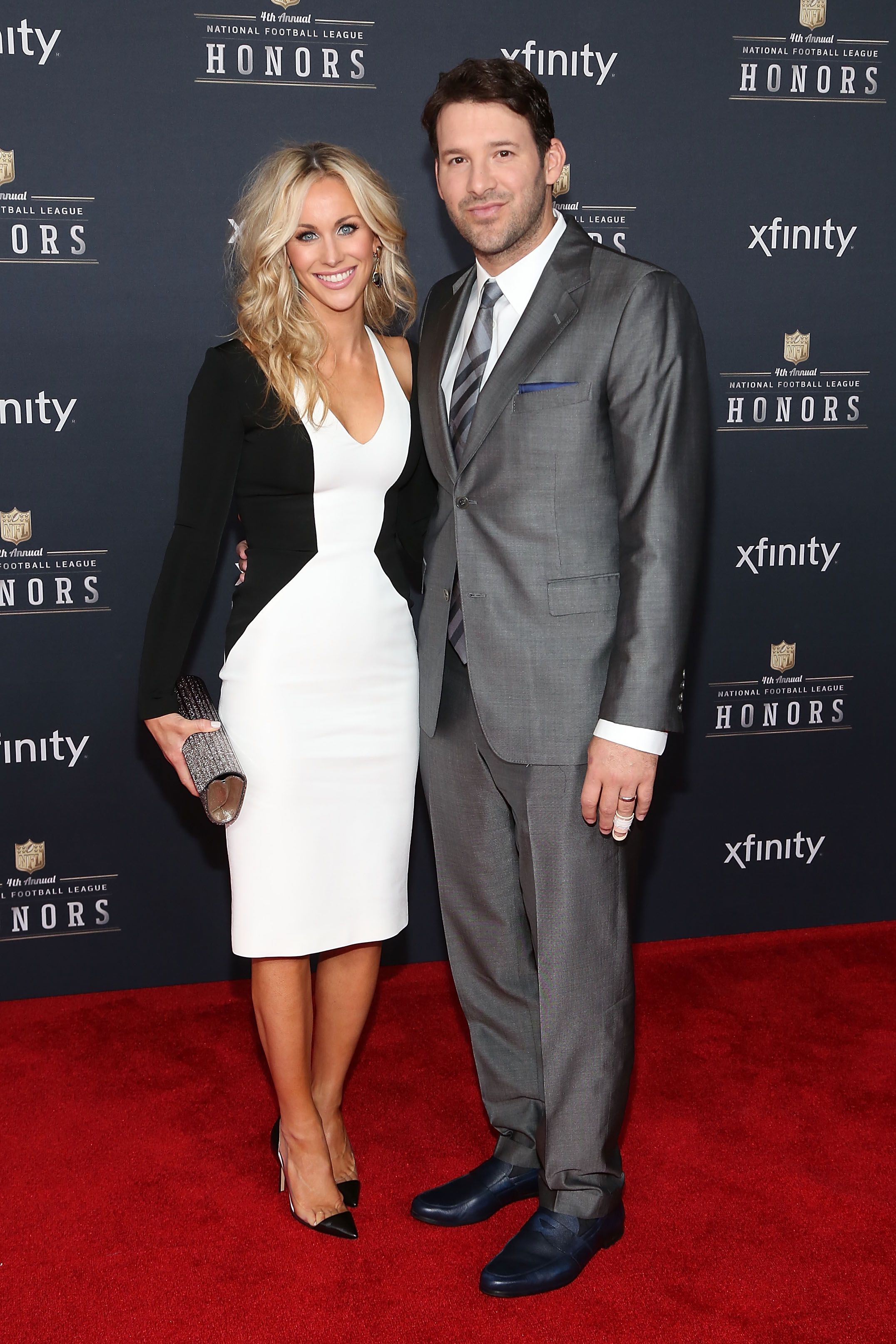 Candice Crawford and Tony Romo during the 2015 NFL Honors at Phoenix Convention Center on January 31, 2015 in Phoenix, Arizona. | Source: Getty Images