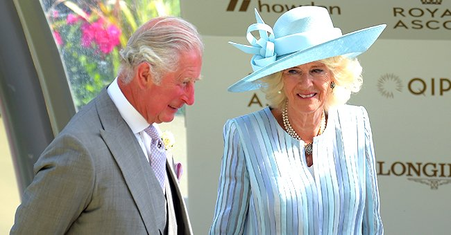 Duchess Camilla Is the Epitome of Elegance in a Blue Dress & Mask on the 1st Day of the Royal Ascot