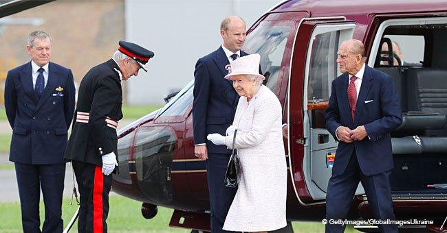 Das ist der Grund, warum die Queen im Flugzeug nicht neben Prinz Phillip sitzt