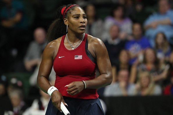 Serena Williams at Angel of the Winds Arena on February 08, 2020 in Everett, Washington. | Photo: Getty Images