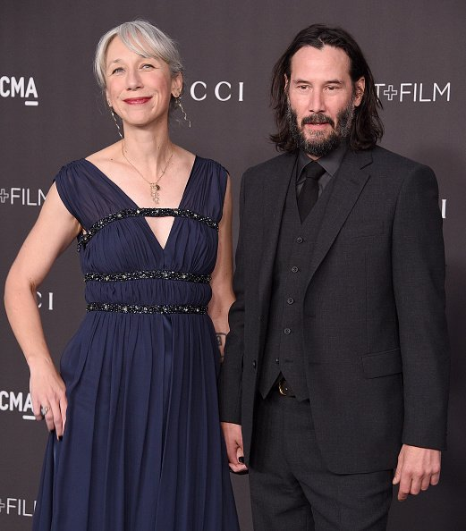 Keanu Reeves and Alexandra Grant at the 2019 LACMA Art + Film Gala Presented By Gucci on November 2, 2019 in Los Angeles, California. | Photo: Getty Images