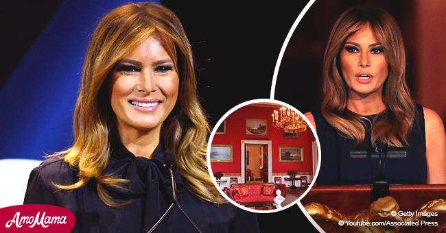 First Lady Melania Trump Has Made Some Interior Upgrades to the White House