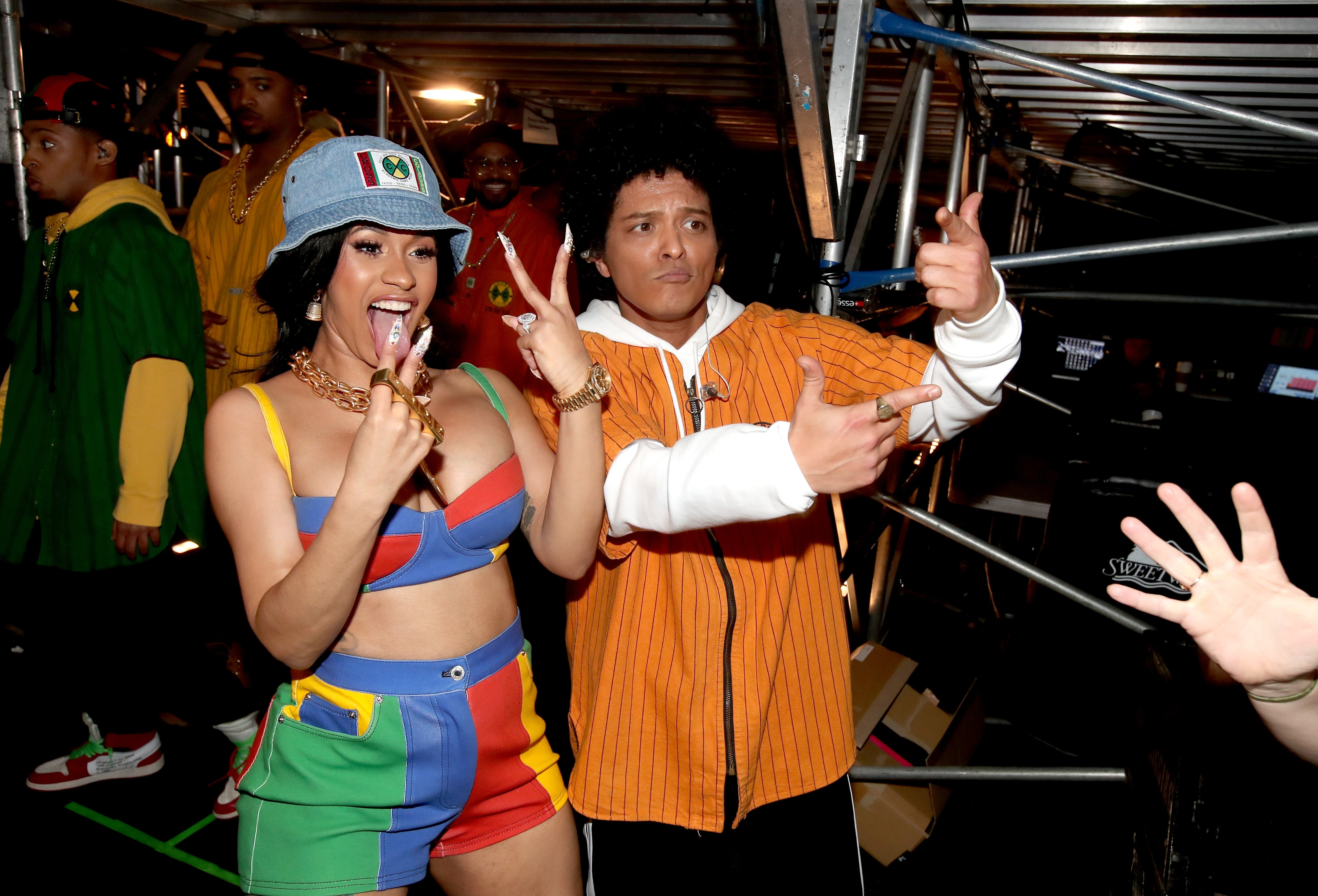 Cardi B and Bruno Mars | Photo: Getty Images