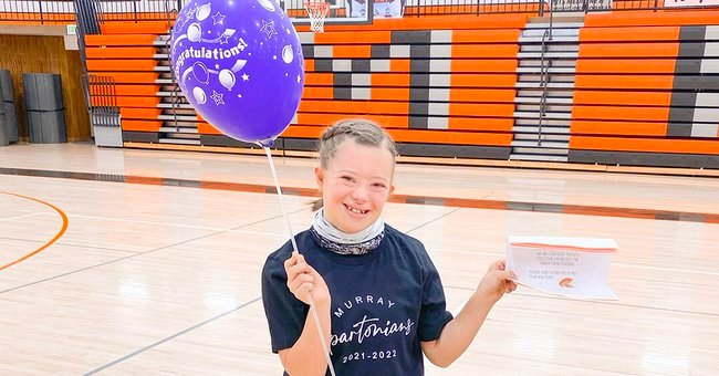 Girl with Down Syndrome Cries with Happiness after She Made the High School Drill Team
