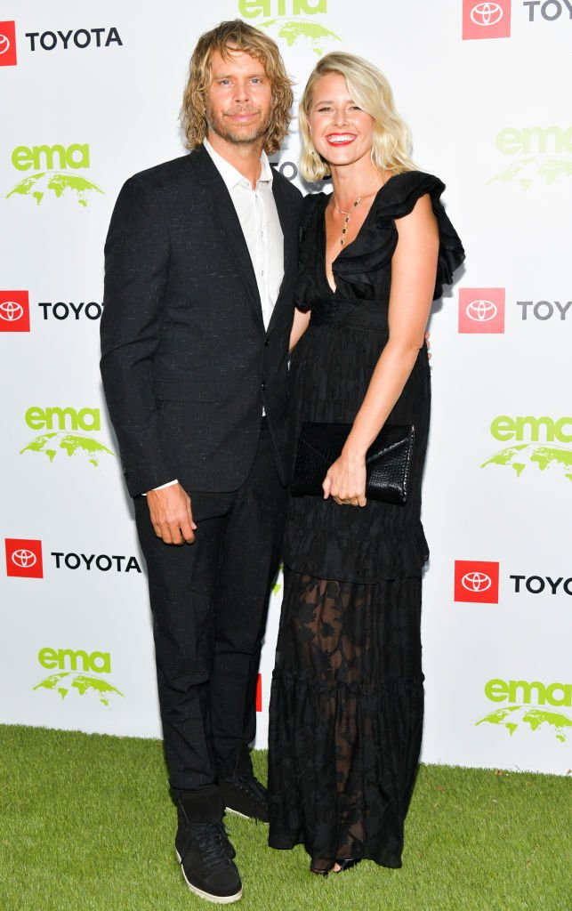 Christian Olsen and Sarah Wright attending the 2nd Annual Environmental Media Association Honors Benefit Gala in Pacific Palisades, California in September 2019. | Image: Getty Images.