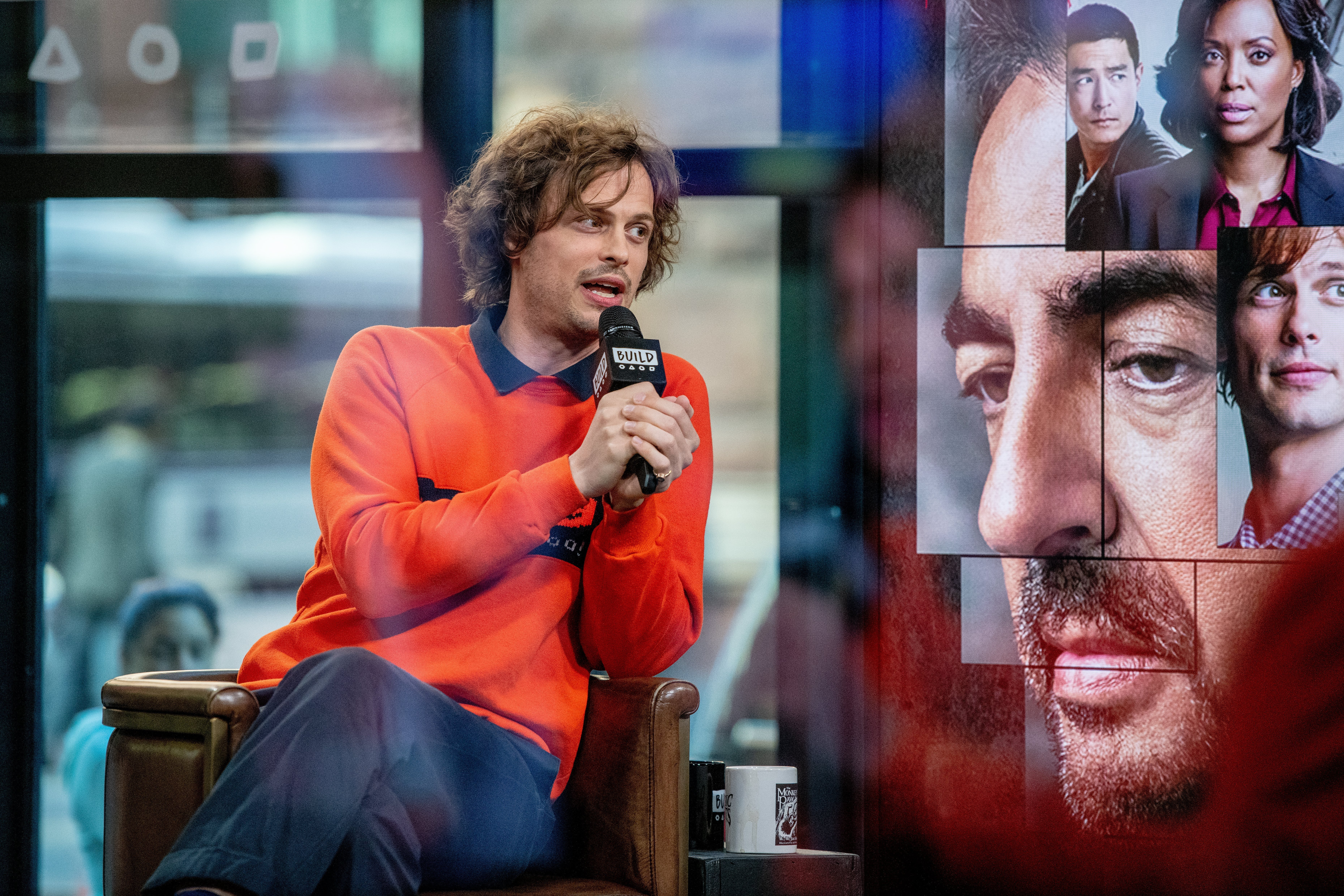 """Matthew Gray Gubler visits Build Series to discuss the TV show """"Criminal Minds"""" with the Build Series at Build Studio on October 18, 2018 