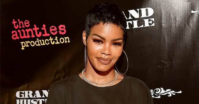Check Out Teyana Taylor's Toned Figure in a Blue Bikini as She Gets Ready for Her 30th Birthday