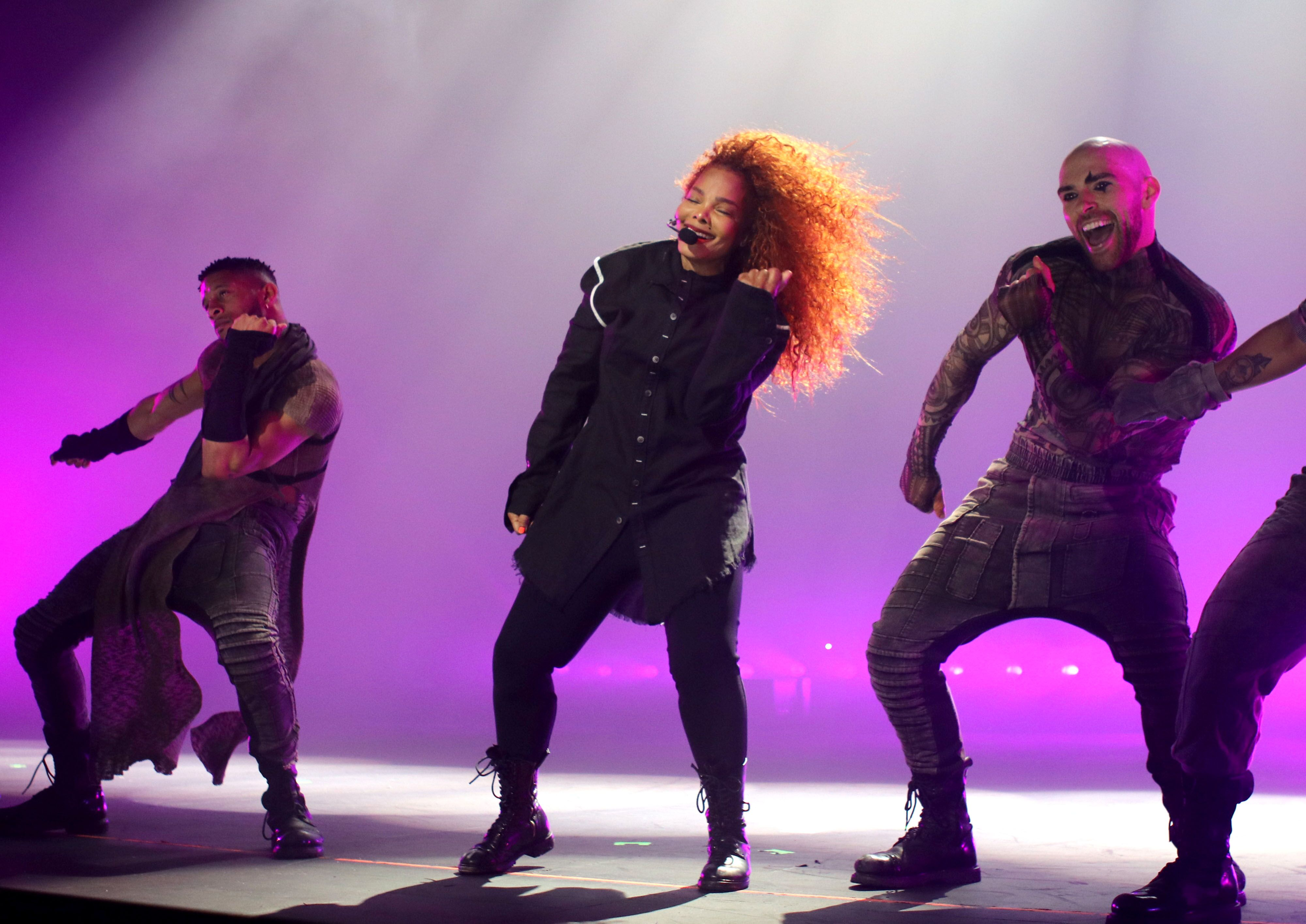 R&B star Janet Jackson performing during her 2019 Concert Tour in Australia / Source: Getty Images