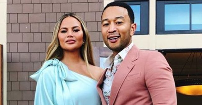 John Legend's Son Miles Melts Hearts Posing in Red Car in New Pic Shared by Mom Chrissy Teigen