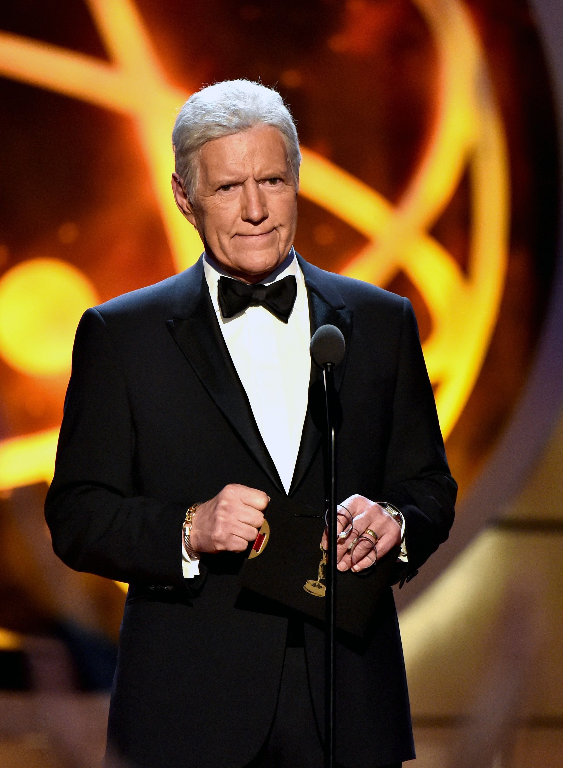 Alex Trebek at the 46th annual Daytime Emmy Awards at Pasadena Civic Center on May 05, 2019   Photo: Getty Images