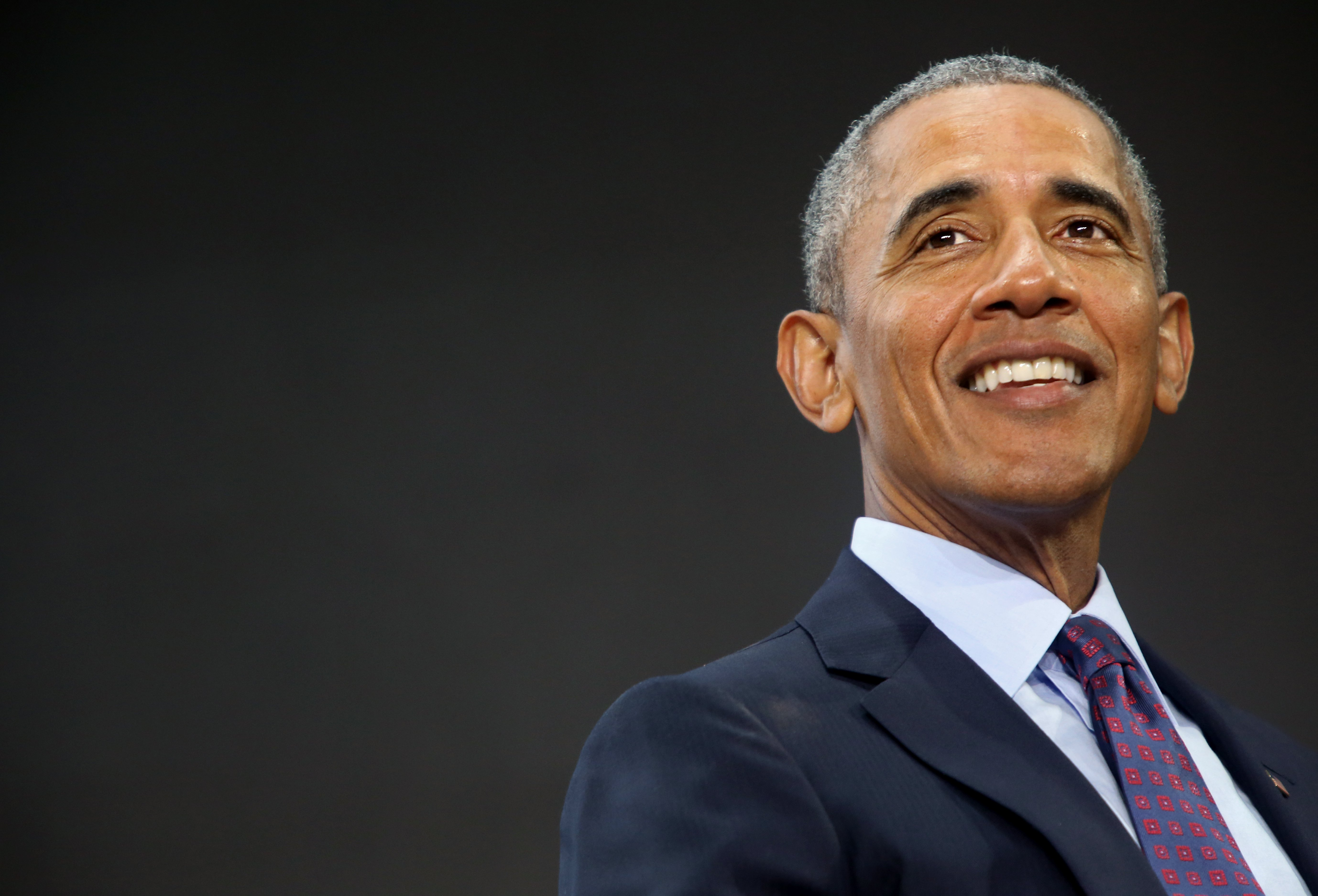 Barack Obama at the Gates Foundation Inaugural Goalkeepers Event | Photo: Getty Images