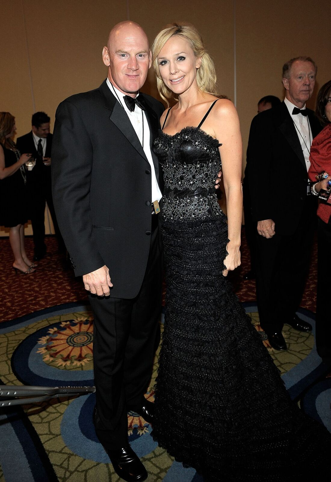 Matt Williams and Erika Monroe at the Muhammad Ali's Celebrity Fight Night XVII in 2011 | Source: Getty Images