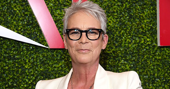 Jamie Lee Curtis Stuns in a Throwback Photo Dressed In a Figure-Hugging Leopard-Print Jumpsuit