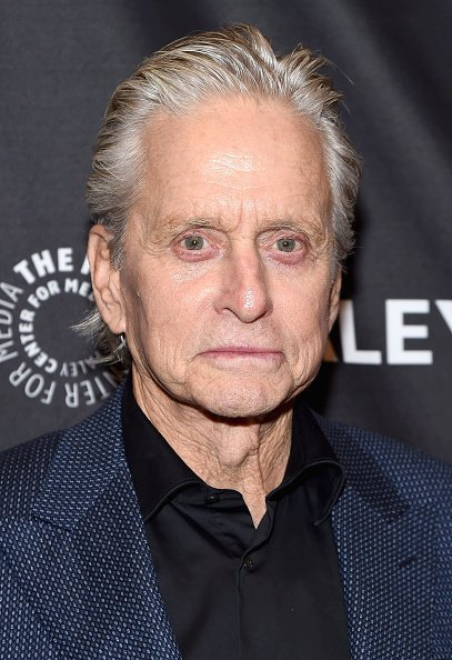 "Michael Douglas at ""The Kominsky Method"" screening on October 11, 2019 