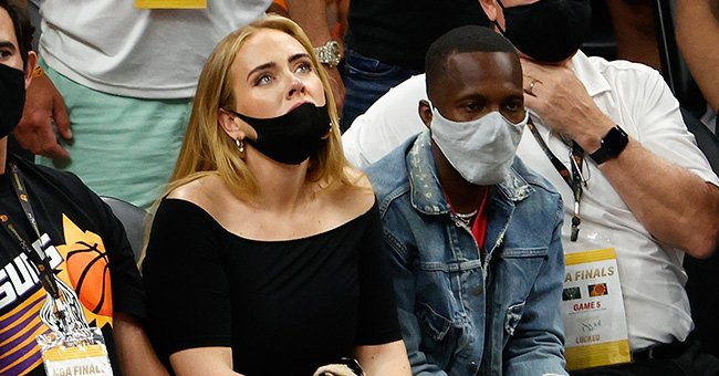 Adele Is Unrecognizable As She Is Spotted with Alleged New Boyfriend at NBA