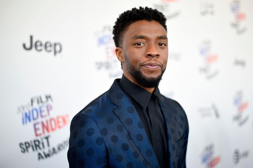 Chadwick Boseman at the 2018 Film Independent Spirit Awards in Santa Monica, California | Source: Getty Images