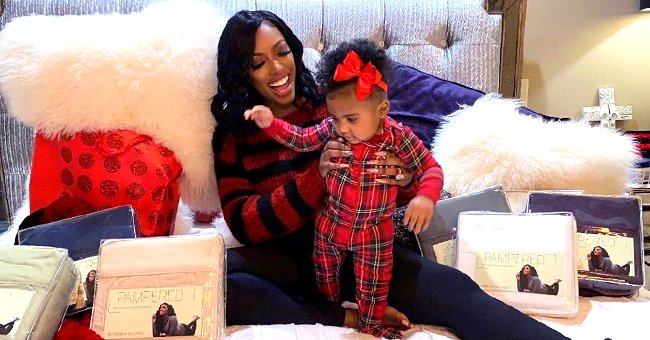 Porsha Williams of RHOA Shares Photos of Her Dimpled Daughter Pilar Jhena with Cute Hairdo