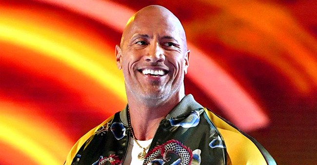 See How Dwayne 'The Rock' Johnson Enjoys Daddy Duty with His 2 Daughters during Play Time