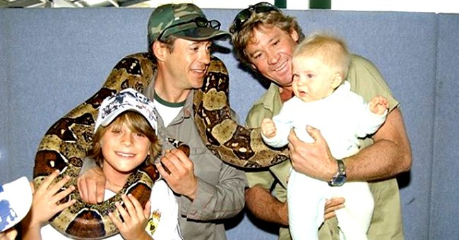 Robert Irwin Posts Pic with Robert Downey Jr 15 Years after Their 1st Photo Together along with Late Dad Steve Irwin