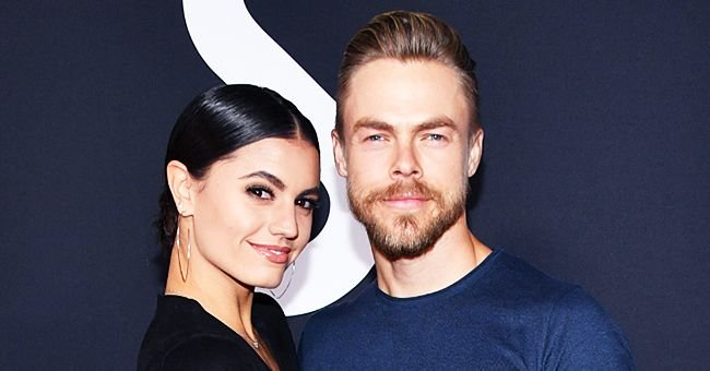 Derek Hough of DWTS Posts Romantic Photos with His Longtime Girlfriend Hayley Erbert on Valentine's Day