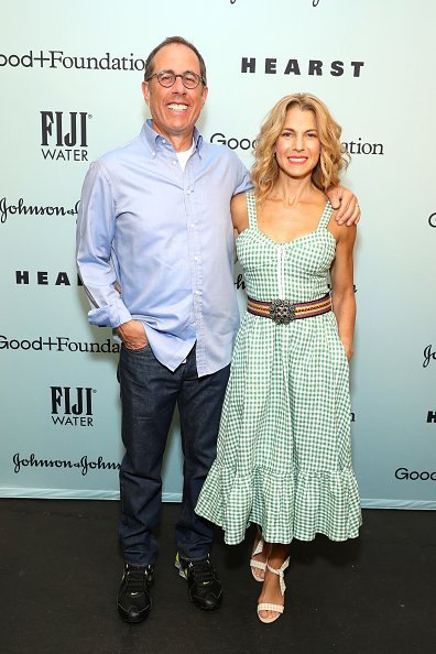 Jerry Seinfeld and Jessica Seinfeld attend Good+Foundation 2019 Bash    Photo: Getty Images
