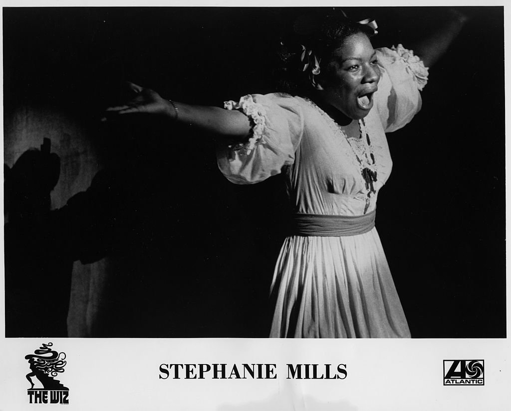 "Actress Stephanie Mills performs as Dorothy during the stage play of ""The Wiz"" 