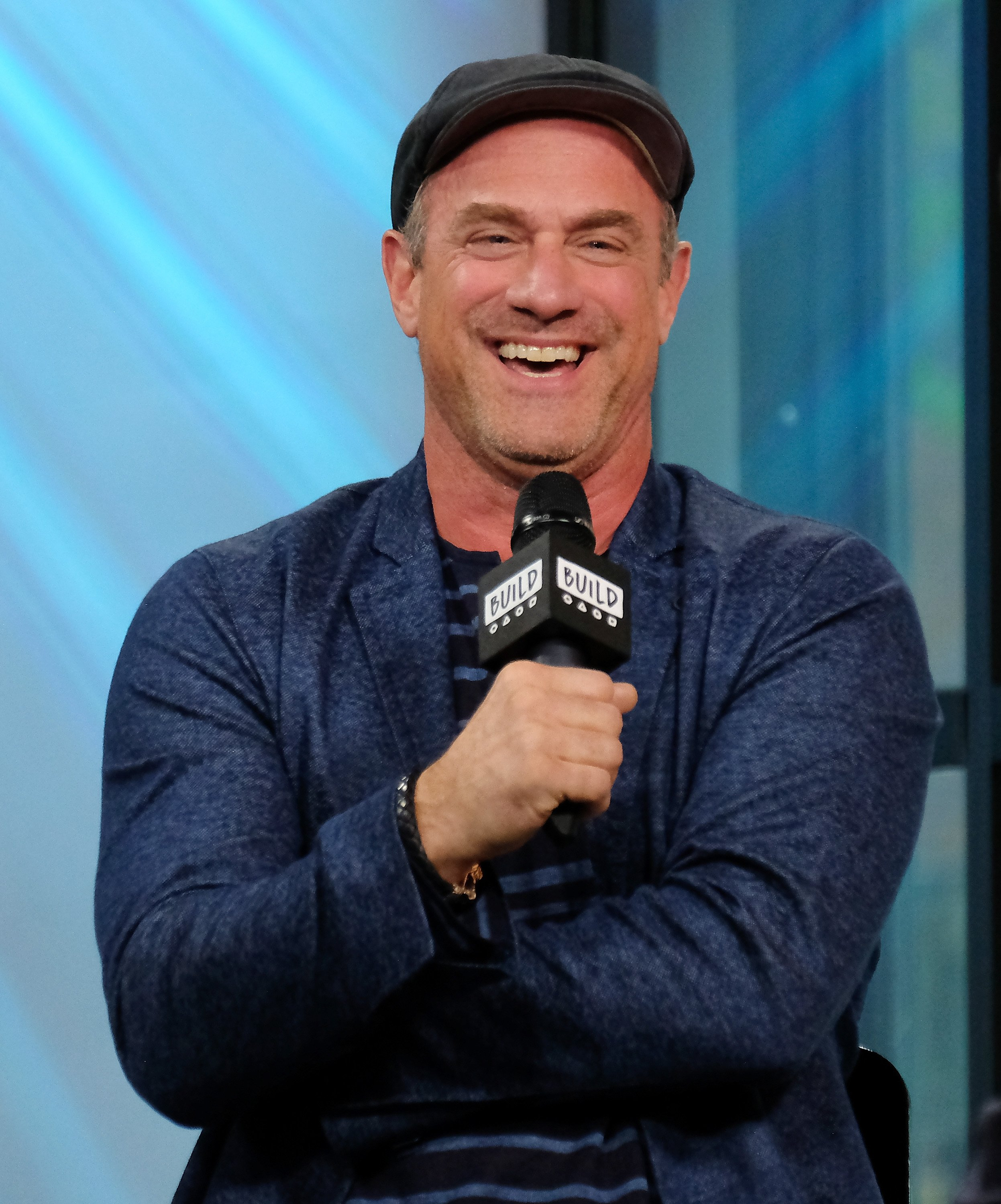 "Christopher Meloni attends the Build Series to discuss the New Movie ""Snatched"" at Build Studio on May 8, 2017 in New York City. 