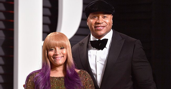 LL Cool J's Wife Simone Defies Her Age Flaunting Curves in Ripped Jeans & Checkered Shirt