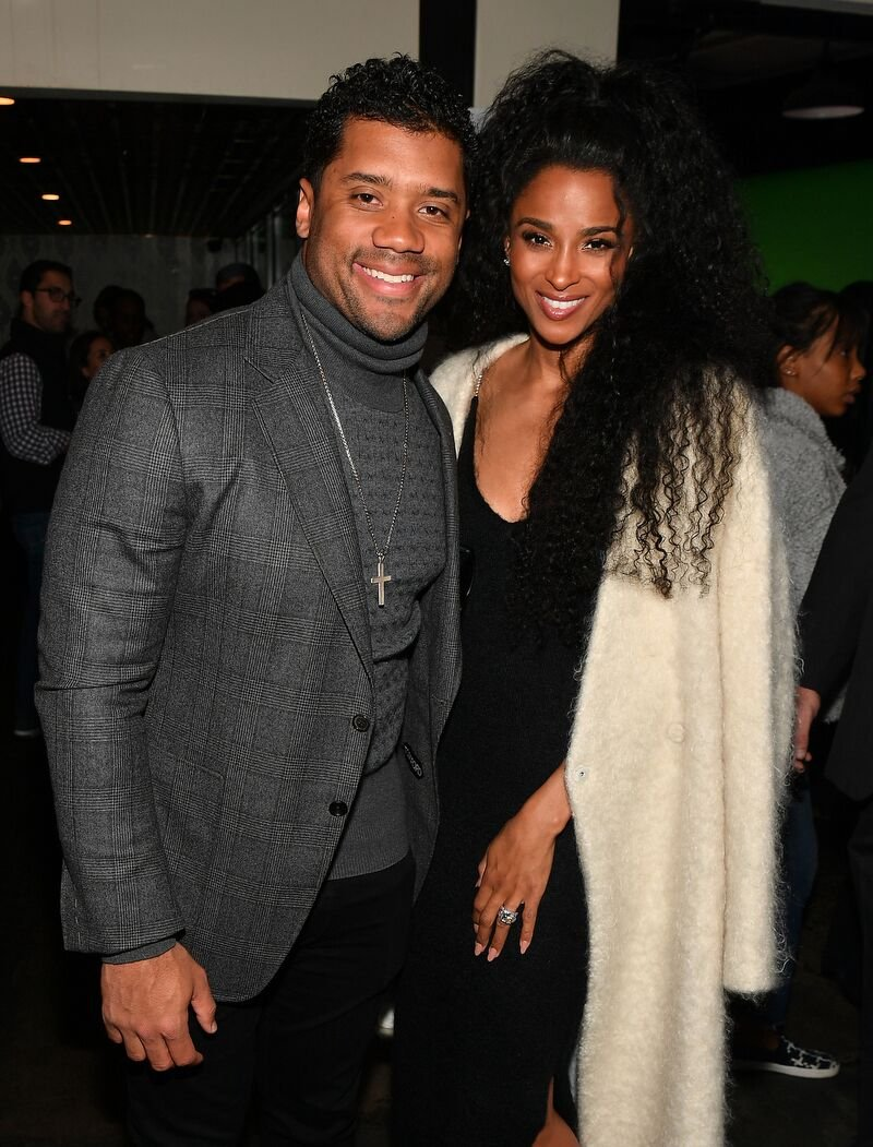 Russell Wilson and Ciara attend the Bose Frames Audio Sunglasses launch on February 1, 2019. | Photo: Getty Images