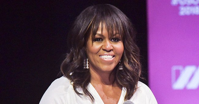 Michelle Obama Shows Fit Figure in Tight Leggings & Top As She Celebrates National Walking Day
