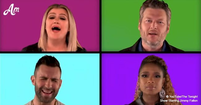 'The Voice' coaches deliver a greatest mashup of hits - now you can judge their singing skills