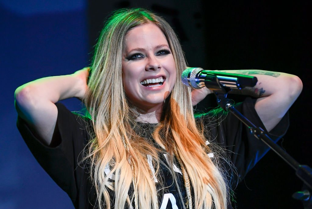 Avril Lavigne performing at Live In The Vineyard in Napa Valley, California.   Photo: Getty Images