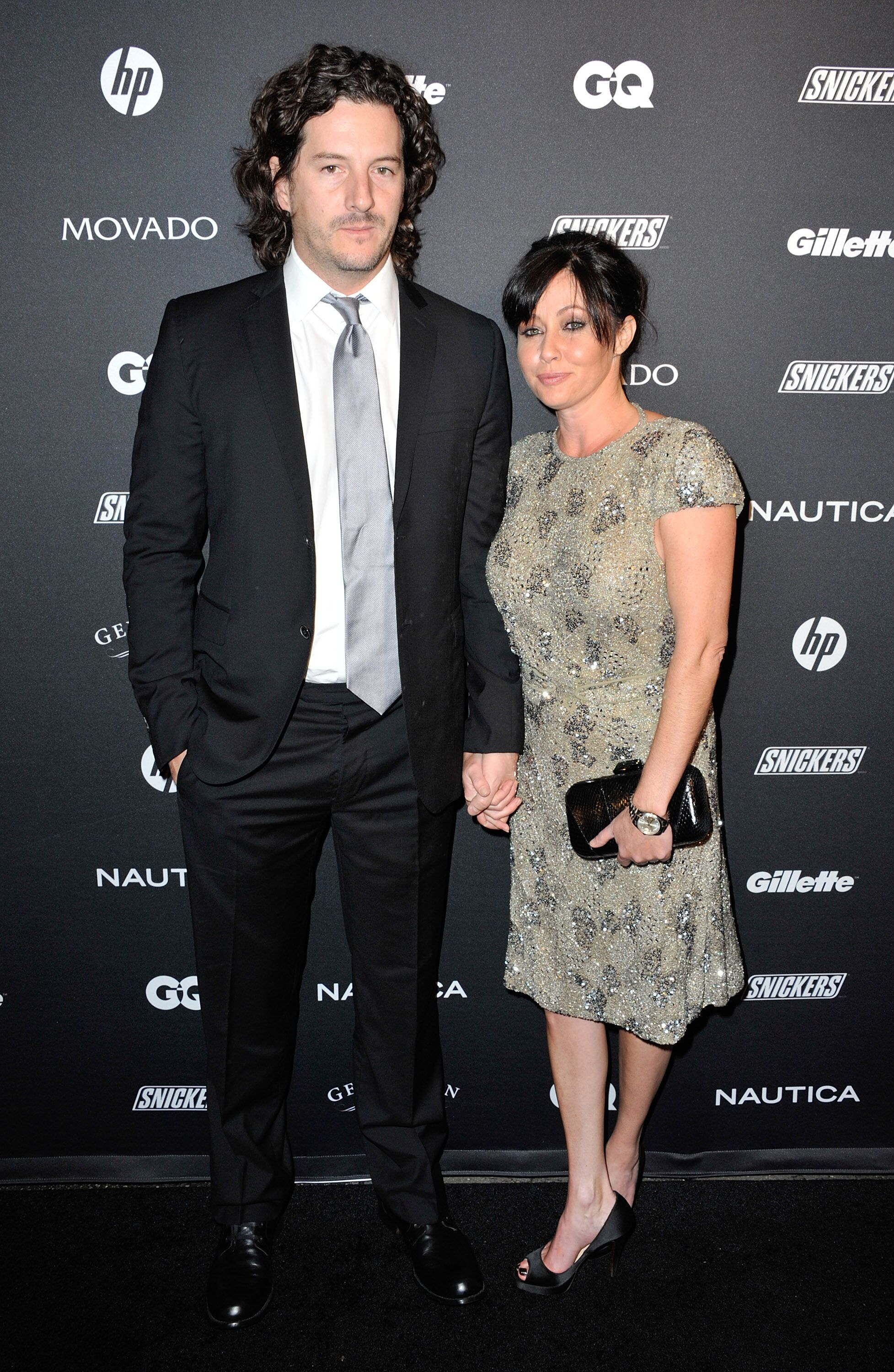 Shannen Doherty and husband Kurt Iswarienko in New York City in 2012 | Source: Getty Images