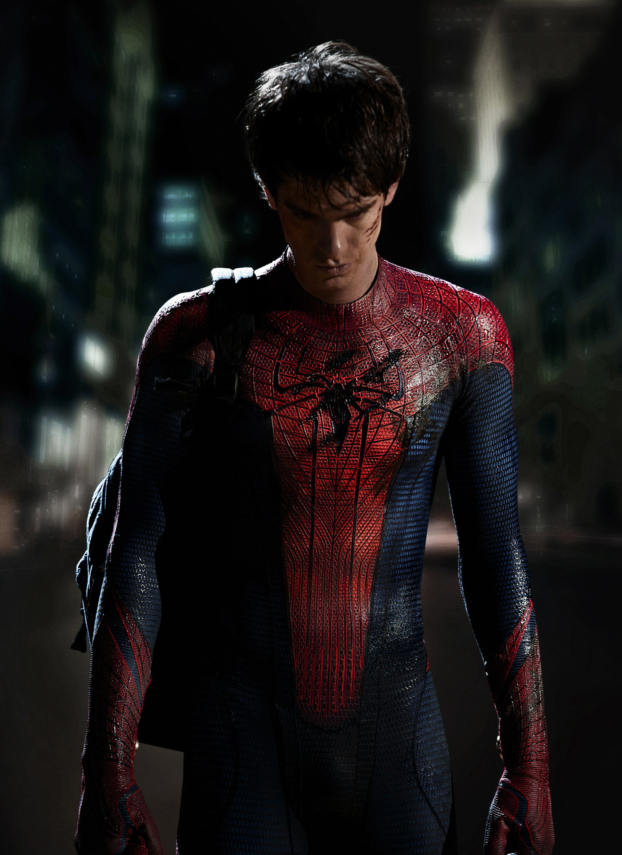"""Actor Andrew Garfield as Spider-Man in """"The Amazing Spider-Man 2""""   Photo: John Schwartzman/Columbia Pictures Industries, Inc. via Getty Images"""
