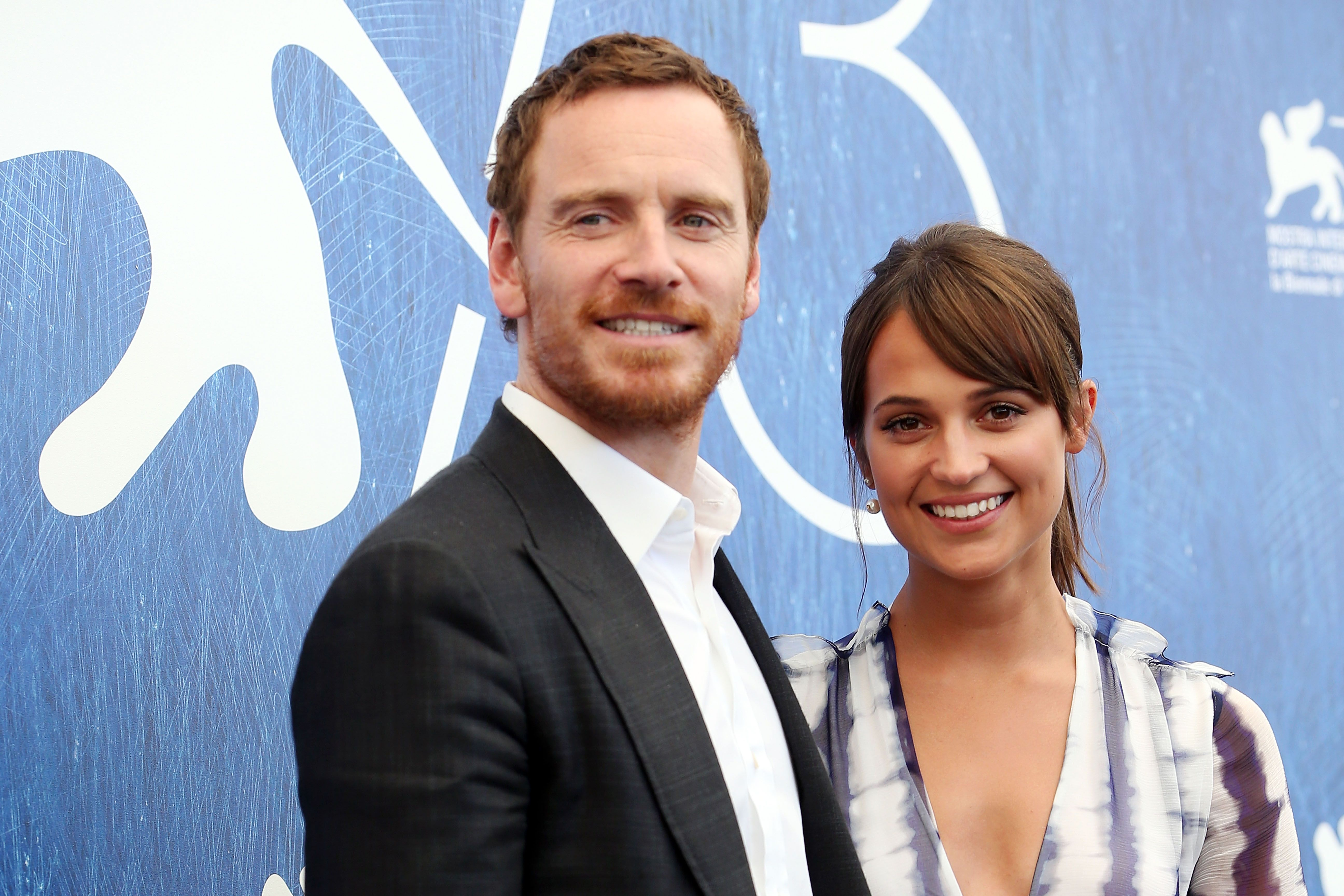 Actors Alicia Vikander and Michael Fassbender at a photocall for 'The Light Between Oceans' during the 73rd Venice Film Festival on September 1, 2016   Photo: Getty Images