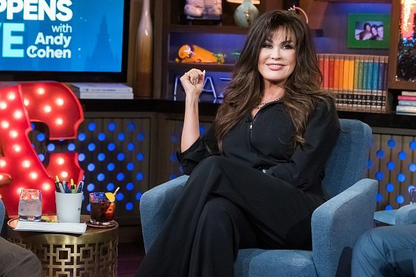 Marie Osmond on set of Watch What Happens Live With Andy Cohen | Photo: Getty Images