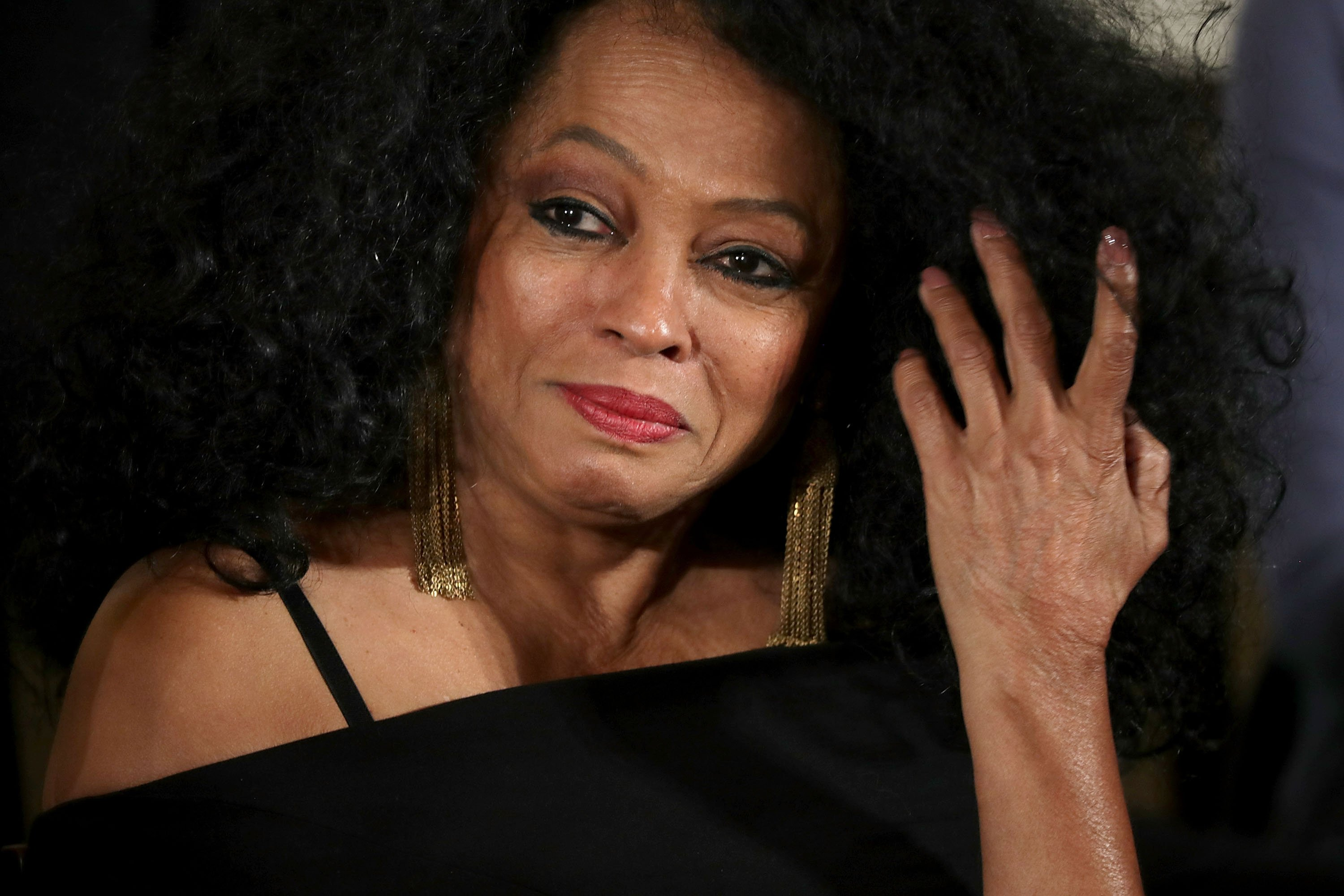 Diana Ross during a ceremony at the White House, November 22, 2016 in Washington, DC.   Photo: Getty Images