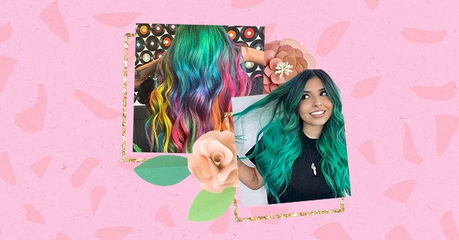 10 Multi-Colored Hairstyles To Try This Summer