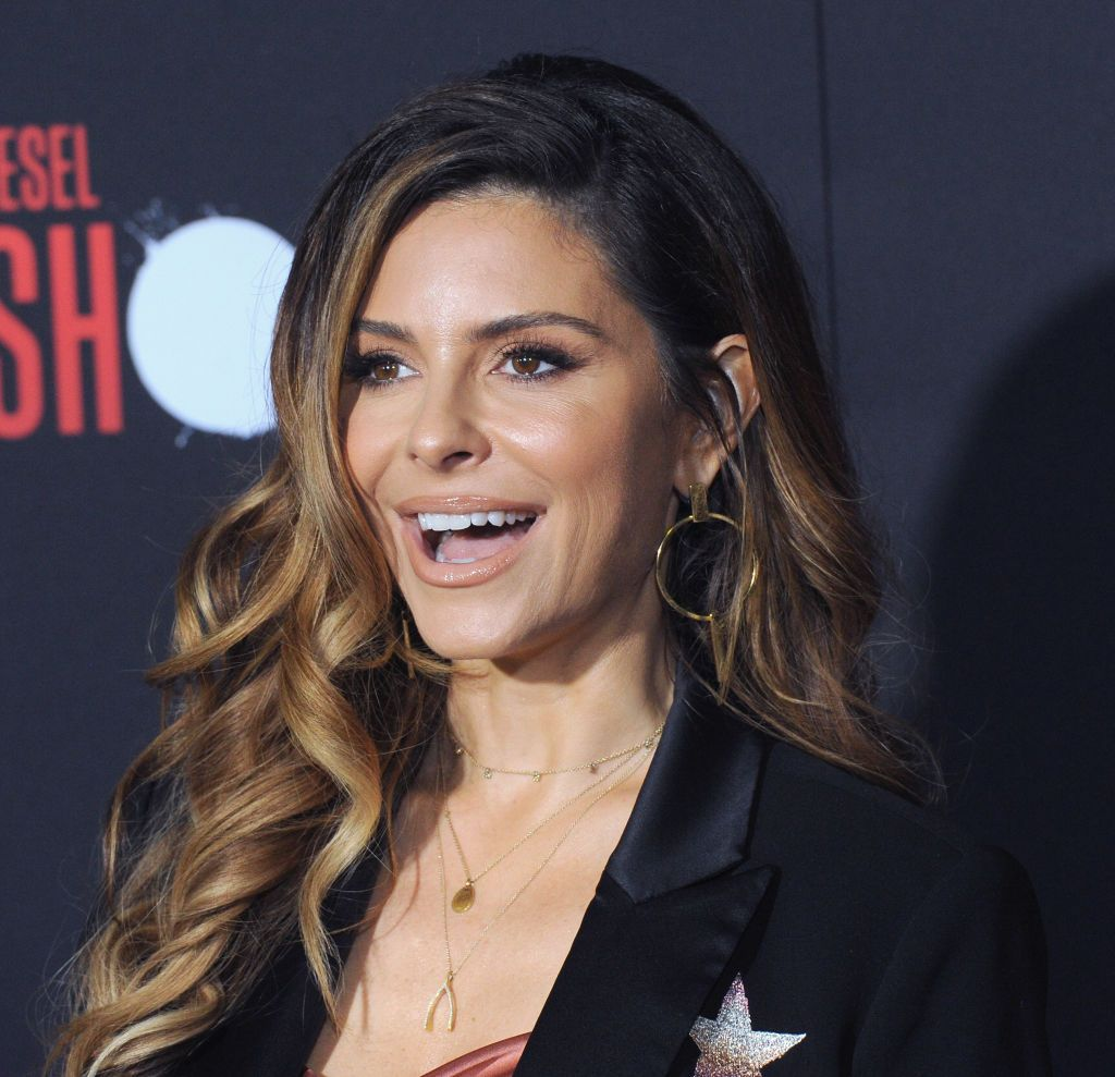 "Maria Menounos at the Premiere Of Sony Pictures' ""Bloodshot"" held at The Regency Village on March 10, 2020 