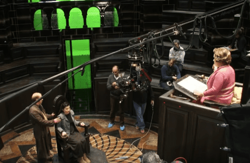 "Behind the scenes of ""Harry Potter and the Order of the Phoenix."" 