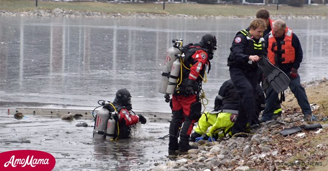 Indianapolis man dies after jumping into icy pond to save a drowning dog