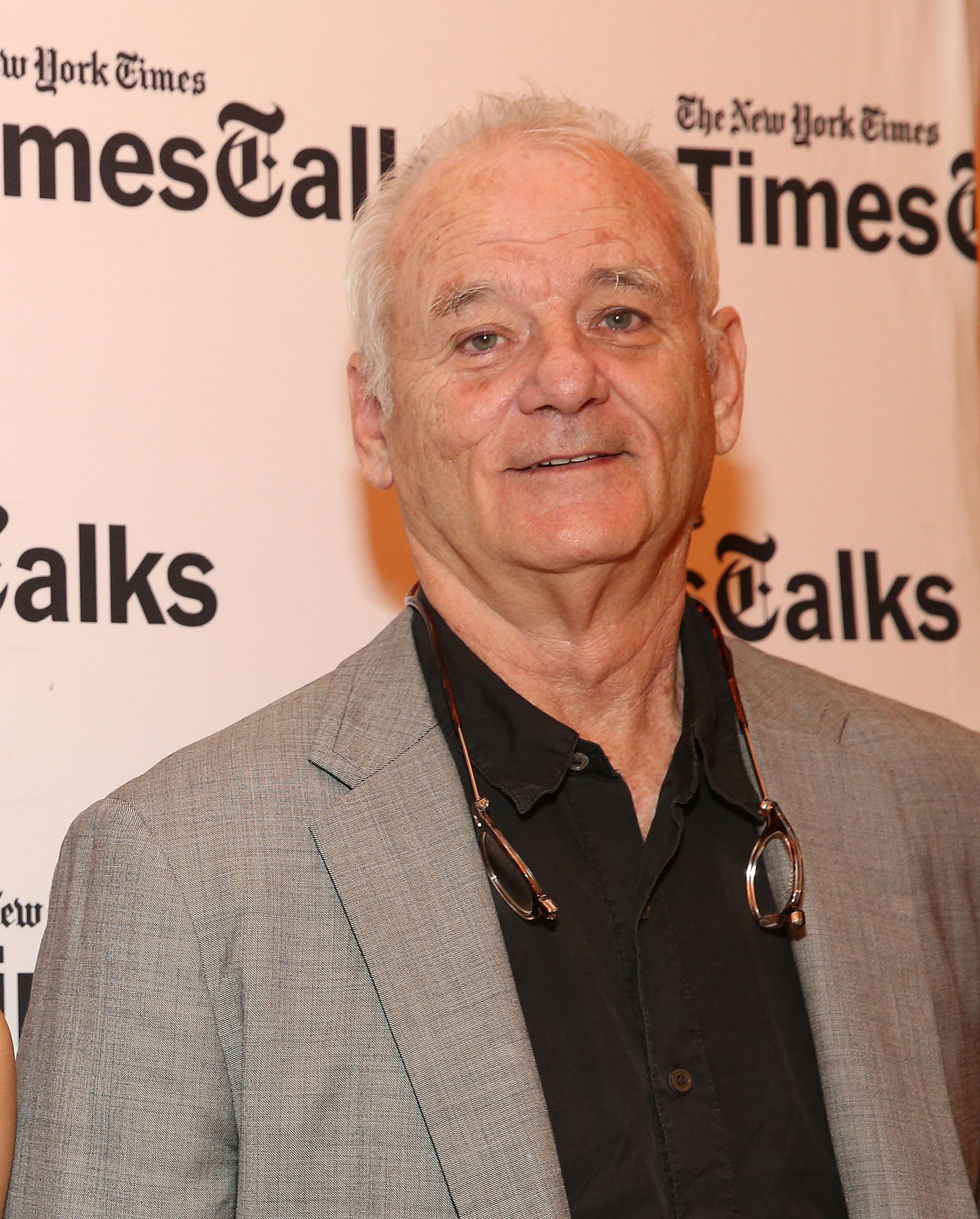 Bill Murray at a speaking engagement in New York in June 2017. | Photo: Getty Images