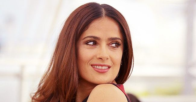 Salma Hayek Shows off Toned Envy-Inducing Body in One-Piece Swimsuit on Vacation