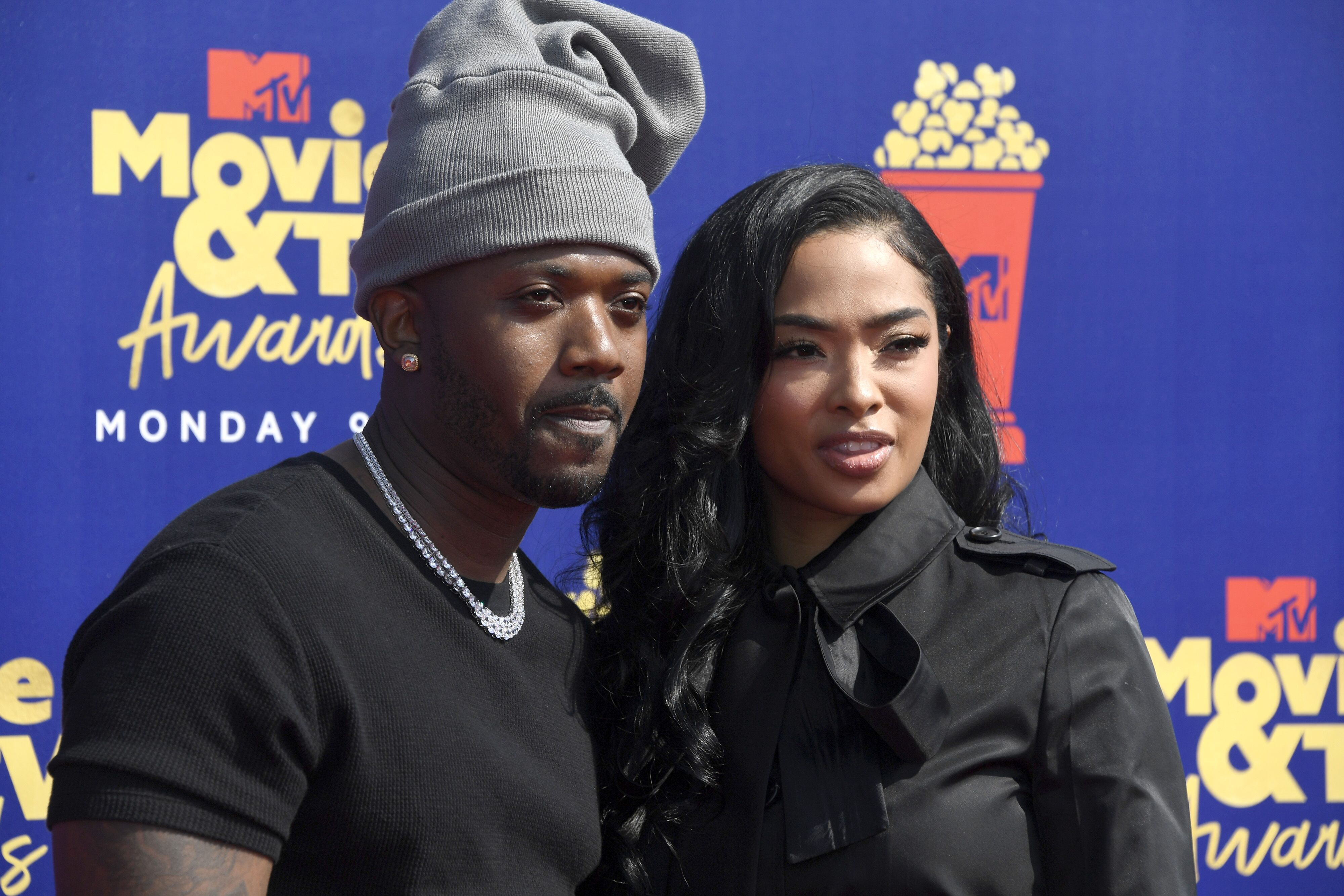 Ray J and Princess Love attend the 2019 MTV Movie and TV Awards at Barker Hangar on June 15, 2019. | Source: Getty Images