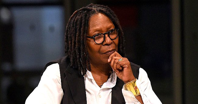 Whoopi Goldberg Takes Part in 'The View' from Her Home as Precaution Amid Coronavirus Pandemic