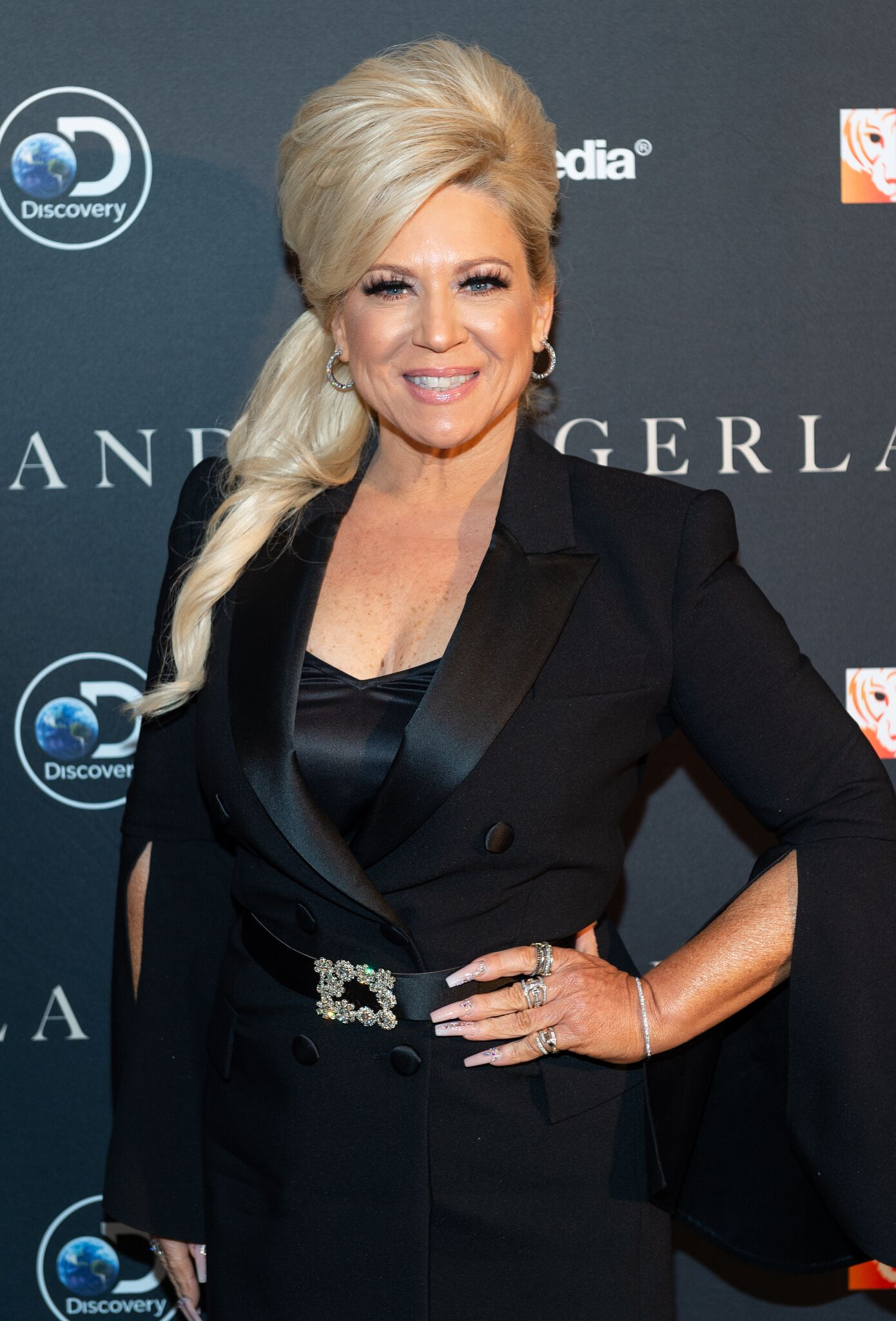 "Theresa Caputo attends the ""Tigerland"" New York Screening at Crosby Street Hotel  