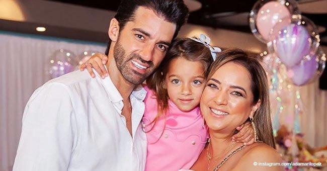Adamari López conquistó la pista de baile en el cumpleaños de su hija con un jumpsuit color perla