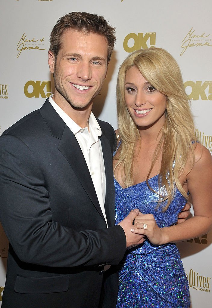 The Bachelor Jake Pavelka and fiance Vienna Girardi attend the OK! Magazine pre-Oscar party | Getty Images