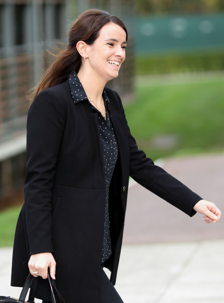 Sophie Agnew seen during a visit by The Duchess of Cambridge to the Lawn Tennis Association at the National Tennis Centre. | Photo: Getty Images