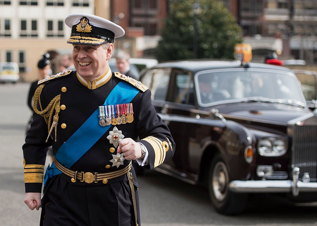 Prince Andrew at a reception at the Honourable Artillery Company at St Paul's Cathedral on March 13, 2015, in London, England | Photo: Niklas Halle's/WPA Pool/ Getty Images